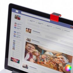 Couvercle pour Webcam 145740 Rouge