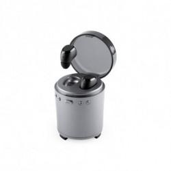 Bluetooth Kopfhörer mit Mikrofon FM USB 3W Silberfarben 146192 Silberfarben