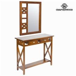 Konsolentisch mit 2 Schubladen Craftenwood (90 x 34 x 80 cm) - Serious Line Kollektion