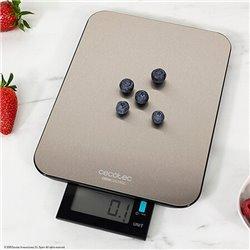 Báscula Digital de Cocina Cecotec Cook Control 9000 Waterproof Inox