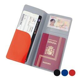 Travel Document Holder Aeroplane 143928 Red