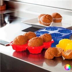 Moldes de Silicona para Cupcakes 143986 Rojo