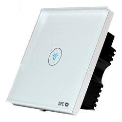 Interruttore Intelligente SPC Hera 6203B WIFI 2.4 GHz Bianco