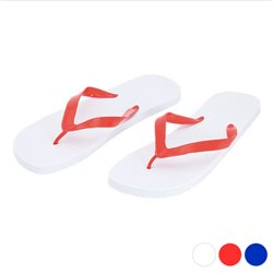Tongs 143114 Blanc/Rouge 42-44