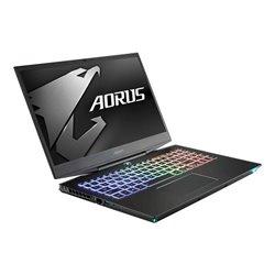 "Portatile Gaming Gigabyte Aorus15 XA-7 15,6"" i7-9750H 16 GB RAM 512 GB SSD + 2 TB Nero"