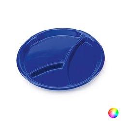 Vassoio con Scompartimenti (Ø 25,5 cm) 144146 Azzurro