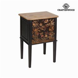 Table d'Appoint Craftenwood (50 x 38 x 75 cm) - Collection Paradise