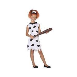 Costume per Bambini Cavernicolo Bianco (1 Pc) 3-4 Anni