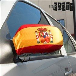 Bandeira Espanhola para Cobrir o Espelho Retrovisor (2 peças)