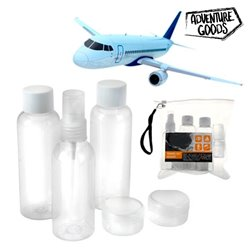 Travel Toiletry Bag (6 pieces)