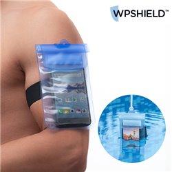 WpShield Wasserdichte Handyhülle Blau
