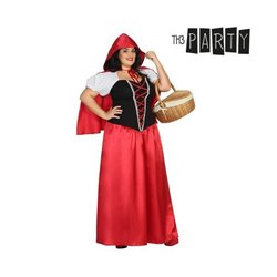 Costume per Adulti Th3 Party Cappuccetto rosso XXL