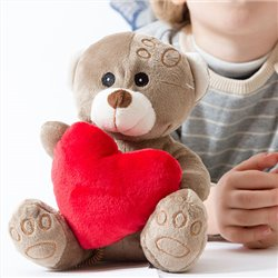 Orsetto di Peluche con Cuore Romantic Items