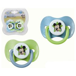 Set di Succhietti in Gomma Mickey Mouse Disney +3M 119063 (2 uds)