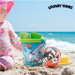 Gioco da Spiaggia con Pallone Looney Tunes (5 pezzi)