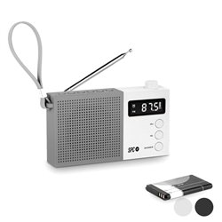 Radio Transistor SPC Jetty Max 4578B AM/FM Bianco