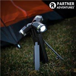 Lanterna LED 3 em 1 com Tripé Total Torch