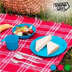 Picknick Set (6 Teile) Rot