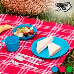 Picnic Set (6 items) Red