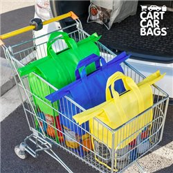 Cart Car Car Boot Carriers bags for Shopping (pack of 4)