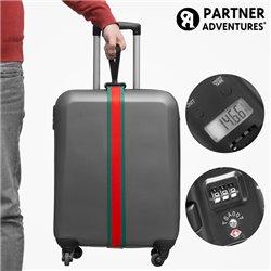 Cinta de Seguridad Codificada y Báscula para Equipaje Partner Adventures