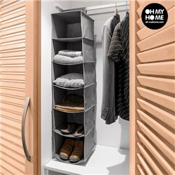 Hanging Clothes Organiser (6 compartments)
