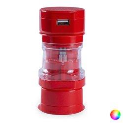 Adattatore per Prese USB 1000 mAh 144698 Rosso
