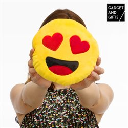 Gadget and Gifts Herz Emoticon Kissen