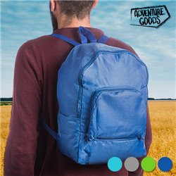 "Mochila Plegable Adventure Goods ""Verde Pistacho"""