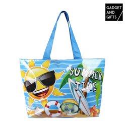 Saco de Praia Emoticons Summer Time Gadget and Gifts