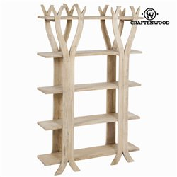 Shelves Mindi wood (147 x 95 x 26 cm) - Pure Life Collection by Craftenwood