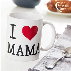 Tazza I Love Mama Romantic Items