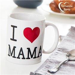 Tazza I Love Mama Romantic Items