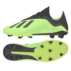 Scarpe da Calcio per Adulti Adidas X 18.3 FG Giallo (Taglia 45,5 eu - 10,5 uk)