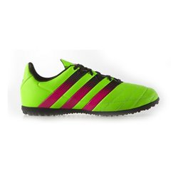 Scarpe da Calcio Multitacchetti per Bambini Adidas ACE 16.3 TF J Giallo Rosa 38,5 (EU) - 5,5 (UK)