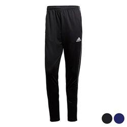Pantalone di Tuta per Adulti Adidas Core 18 TR Poliestere L Nero/Bianco
