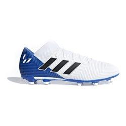 Scarpe da Calcio per Adulti Adidas Nemeziz Messi 18.3 FG Bianco 45 (EU) - 10 (UK)