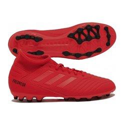 Scarpe da Calcio per Adulti Adidas Predator 19.3 AG Rosso 40 2/3