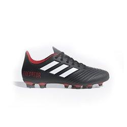 Scarpe da Calcio per Adulti Adidas Predator 18.4 FxG Nero 46 (EU) - 11 (UK)