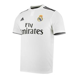 Maglia da Calcio a Maniche Corte Uomo Adidas Real Madrid Bianco 18/19 (1ª) XXL