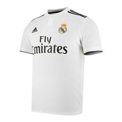 Maglia da Calcio a Maniche Corte Uomo Adidas Real Madrid Bianco 18/19 (1ª) XL