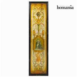 Quadro Specchio Marrone (35 x 2 x 130 cm) by Homania