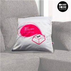 Computer Key Pillowcase Red