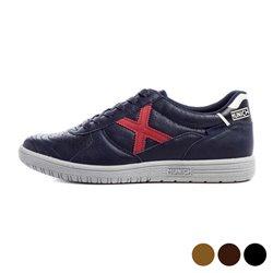 Munich Herren Sneaker G3 Jeans Hellbraun 40