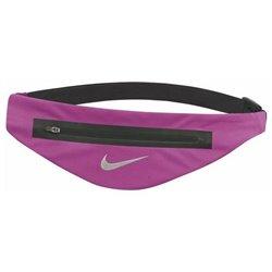 Nike Bolsa de Cintura Running ANGLED WAISTPACH Preto Fúcsia