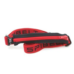 Zeibe Running Belt Pouch SPIBELT Black Red