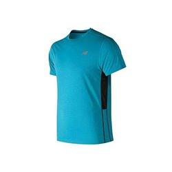 New Balance Herren Kurzarm-T-Shirt ACCELERATE Blau S