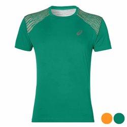 Asics T-shirt à manches courtes homme fuzeX TEE Vert S