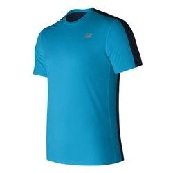 New Balance T-shirt à manches courtes homme MT73061MLE Bleu S
