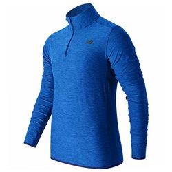 New Balance Men's Long Sleeve T-Shirt MT53030 BTL Blue M